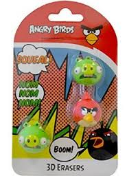 3D GUMY ANGRY BIRDS 3 KUSY