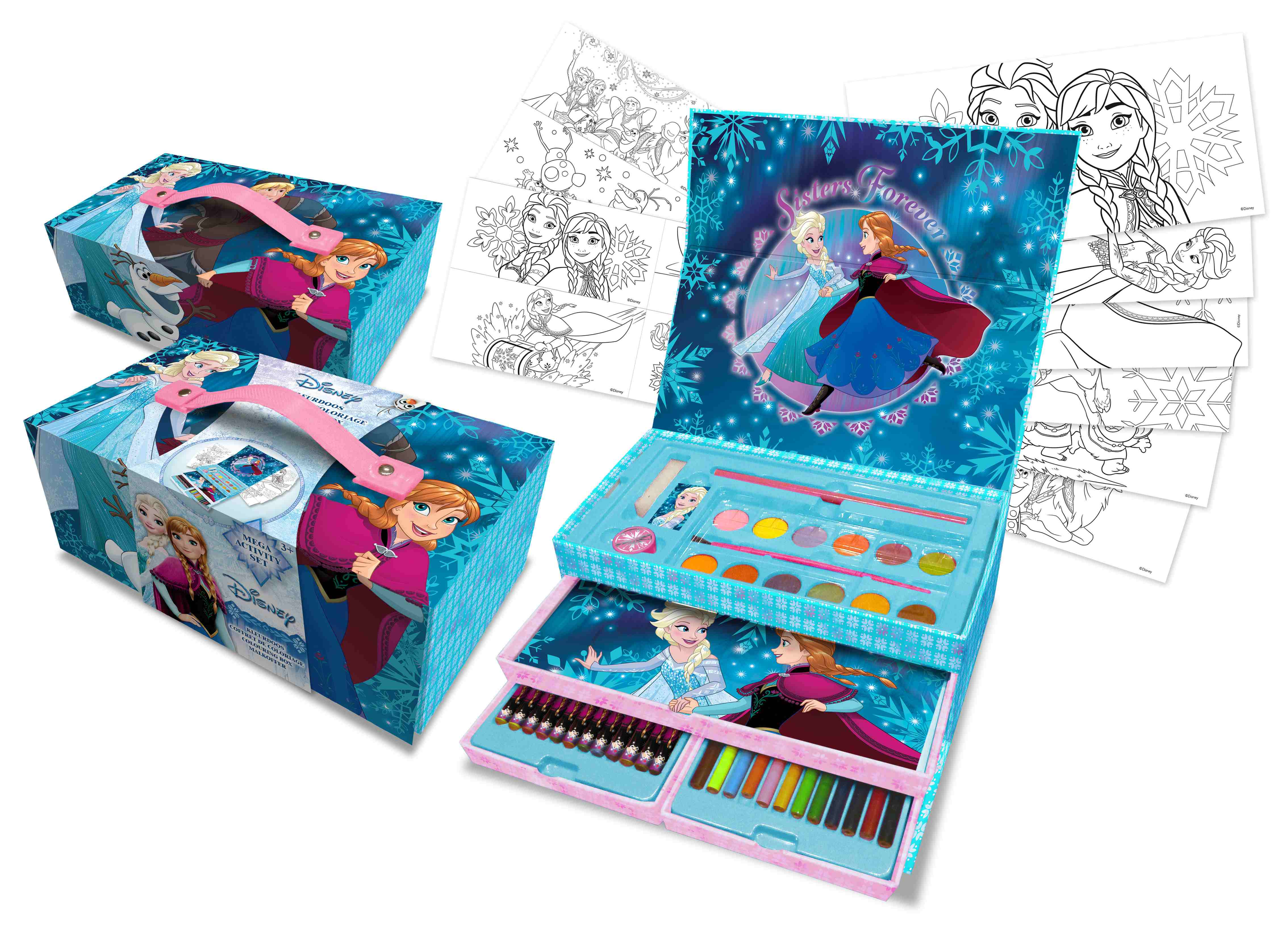 COLOURING BOX FROZEN