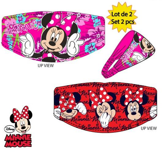 Set 2 kusů čelenek MINNIE 4360