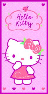 osuška Hello Kitty 70 x 140 - HK09008